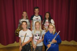Fleißige Jungmusiker wurden ausgezeichnet