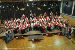 Weihnachts- und Neujahrswunschkonzert der Marktmusikkapelle Wies